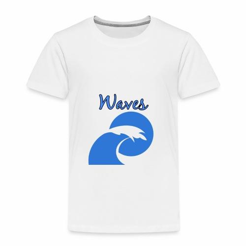 Waves - Toddler Premium T-Shirt
