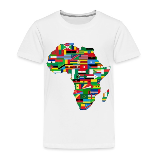 Africa Map - Toddler Premium T-Shirt