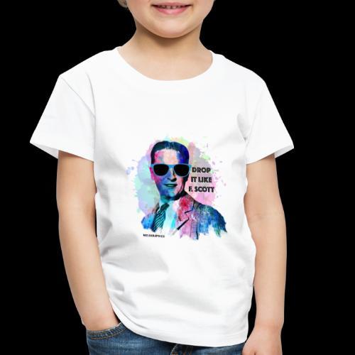 Drop it Like F. Scott | Write Music - Toddler Premium T-Shirt