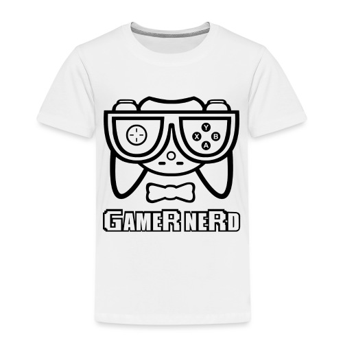 Nerds - Gamer Nerd - Toddler Premium T-Shirt