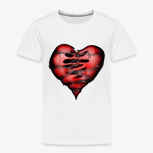 Chains Heart Ceramic Mug - Toddler Premium T-Shirt