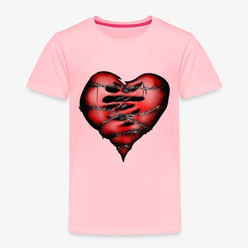 Chains Heart Ceramic Mug - Toddler Premium T-Shirt
