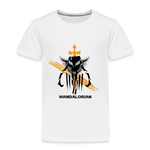 Mandalorian Logo - Toddler Premium T-Shirt