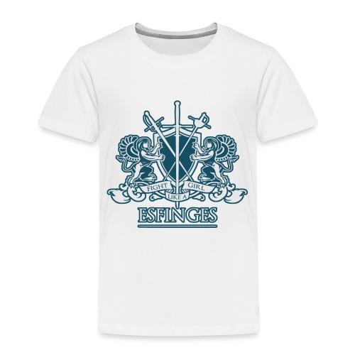 Fight Like a Girl 2 - Toddler Premium T-Shirt