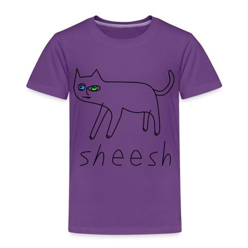 SHEESH CAT - Toddler Premium T-Shirt