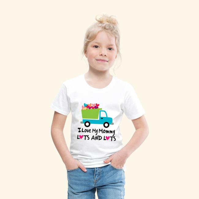First Valentines Day Dump Truck Loads of Love Infant Kids T-Shirt Tstars