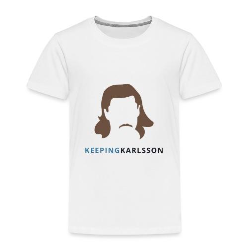 Keeping Karlsson Logo Transparent brown - Toddler Premium T-Shirt