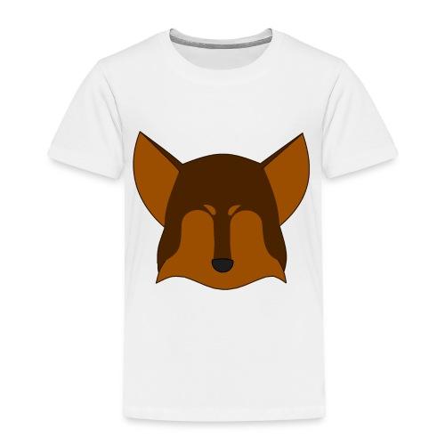 Simple Wolf Head - Toddler Premium T-Shirt