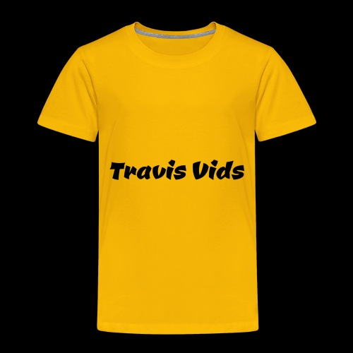 White shirt - Toddler Premium T-Shirt