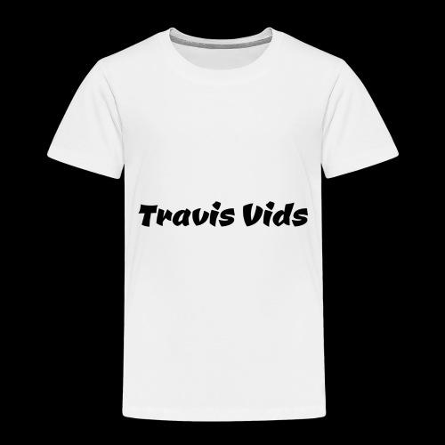 White shirt - Toddler Premium T-Shirt
