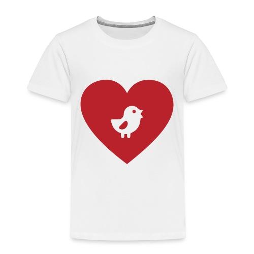 Heart Chick - Toddler Premium T-Shirt
