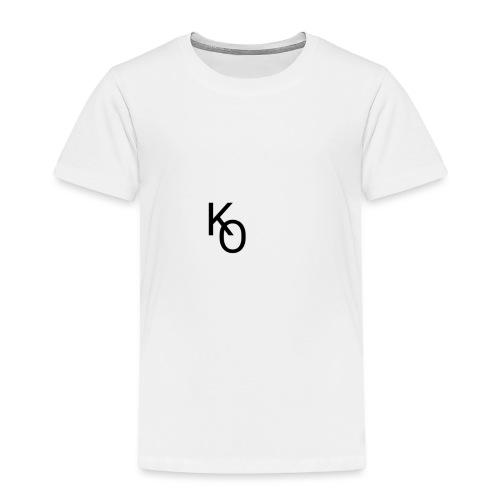 K Over The O - Toddler Premium T-Shirt