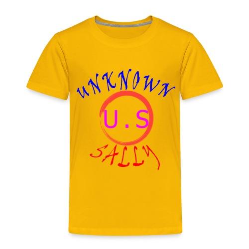 Initial Hoodie - Toddler Premium T-Shirt