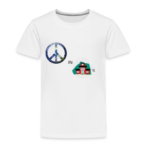 Peace In Schools - Toddler Premium T-Shirt