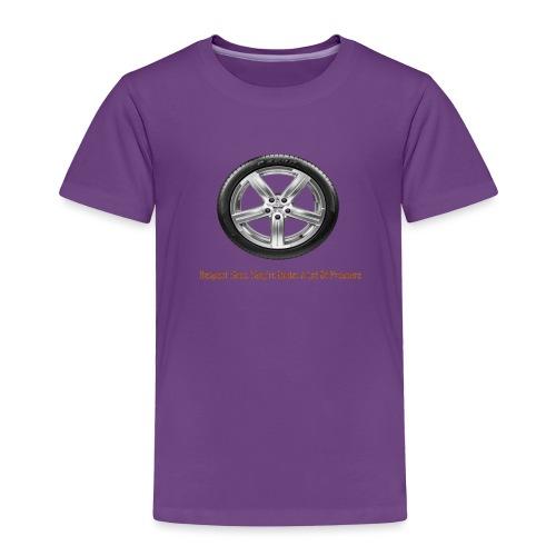 Respect Tires - Toddler Premium T-Shirt