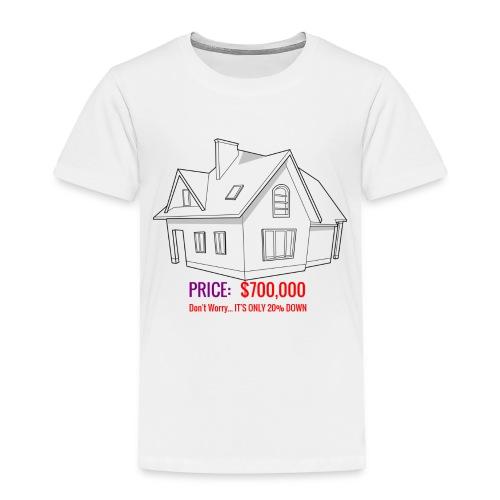 Fannie & Freddie Joke - Toddler Premium T-Shirt