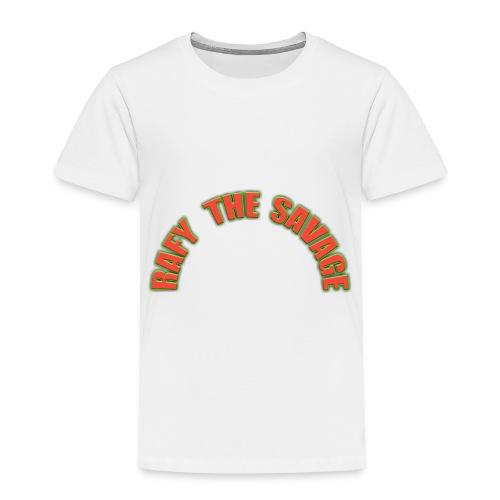 Rafy the savage - Toddler Premium T-Shirt