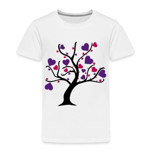 Tree of Hearts - Toddler Premium T-Shirt