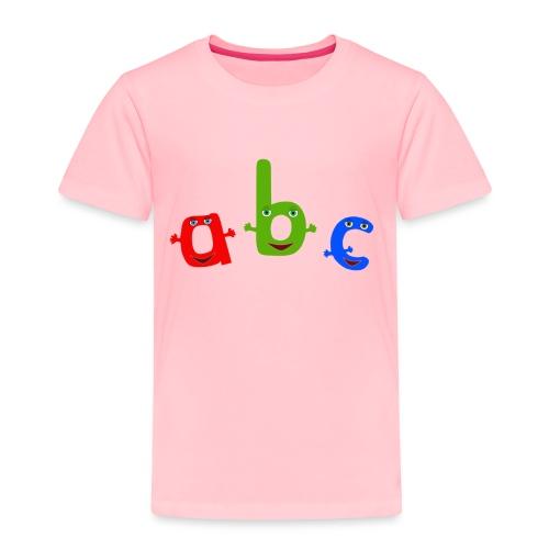 abc t shirt trans - Toddler Premium T-Shirt