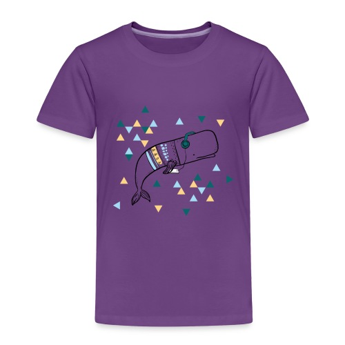 Music Whale - Toddler Premium T-Shirt