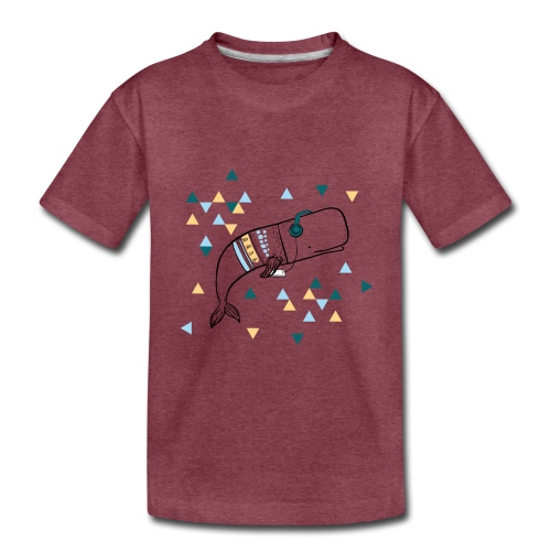 Music Whale - Toddler Premium T-Shirt