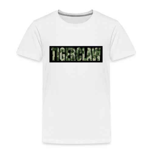 TigerClawCamo - Toddler Premium T-Shirt