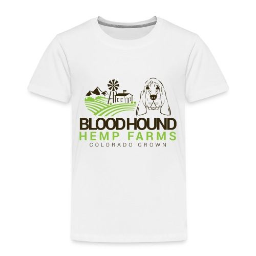 BloodhoundHempFarms - Toddler Premium T-Shirt