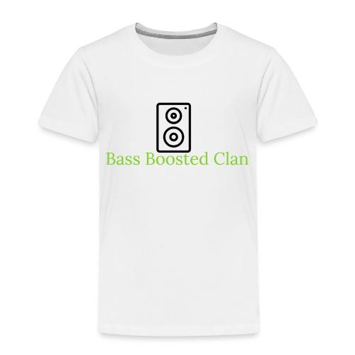 Bass Boosted Clan Brand - Toddler Premium T-Shirt