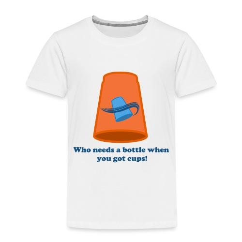 Sport Stacking - No Bottles - Toddler Premium T-Shirt