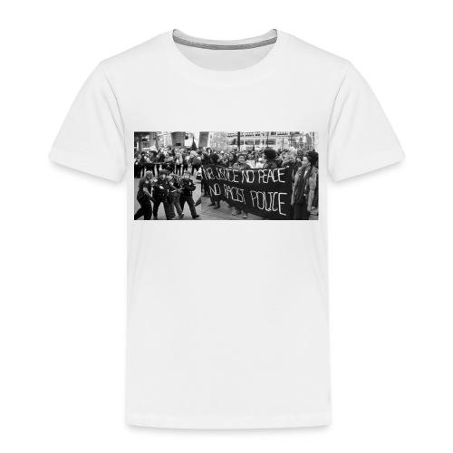 No Racist Cops - Toddler Premium T-Shirt