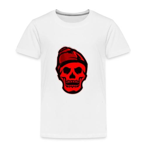 RED Skeleton HaHaHaHa - Toddler Premium T-Shirt
