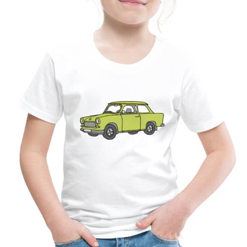 Trabant (baligreen car) - Toddler Premium T-Shirt