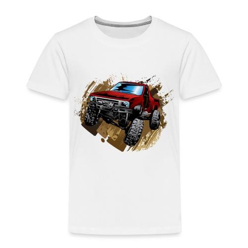 Muddy Red Truck - Toddler Premium T-Shirt