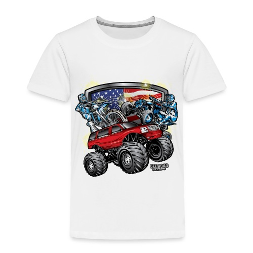 Off-Road 4th of July - Toddler Premium T-Shirt