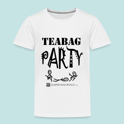 Teabag Party (black) - Toddler Premium T-Shirt