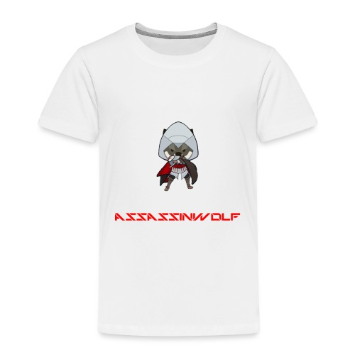 heather gray assassinwolf Tee - Toddler Premium T-Shirt