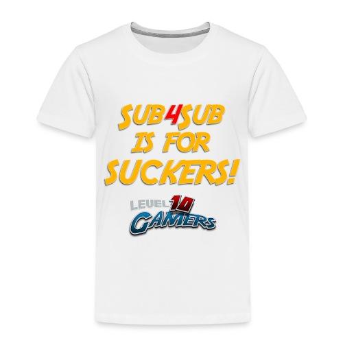 Anti Sub4Sub - Toddler Premium T-Shirt