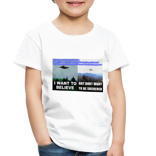 tshirt i want to believe - Toddler Premium T-Shirt