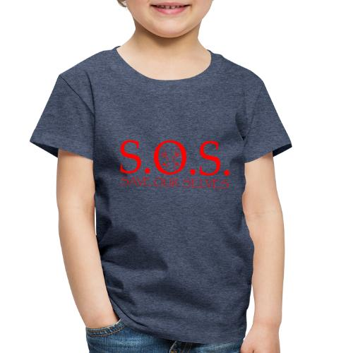 sos red - Toddler Premium T-Shirt