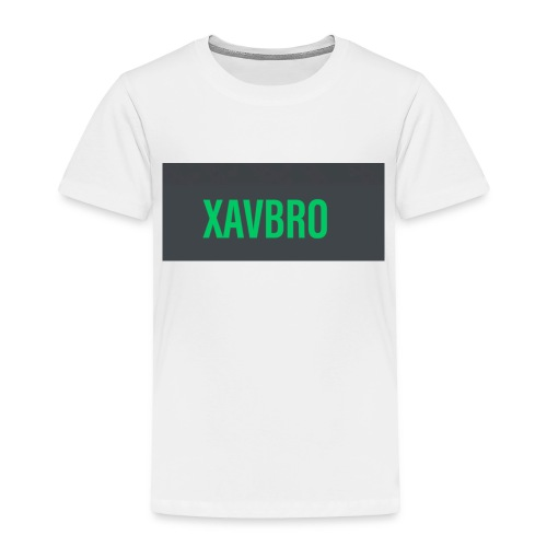 xavbro green logo - Toddler Premium T-Shirt