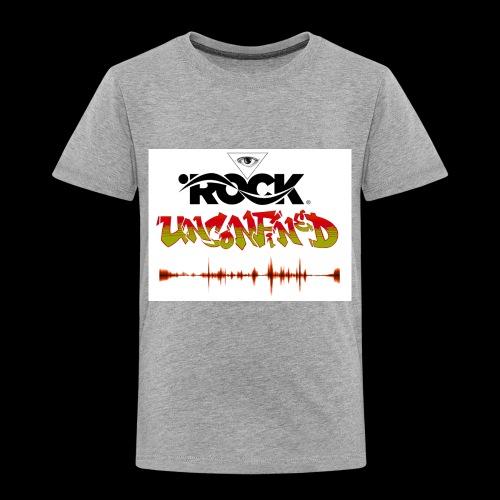 Eye Rock Unconfined - Toddler Premium T-Shirt