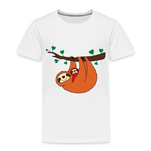 Sloth Love - Toddler Premium T-Shirt