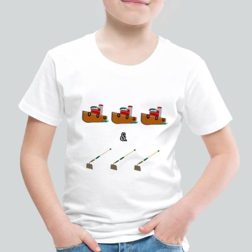 Boats and Hoes - Toddler Premium T-Shirt