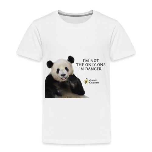 Endangered Pandas - Josiah's Covenant - Toddler Premium T-Shirt