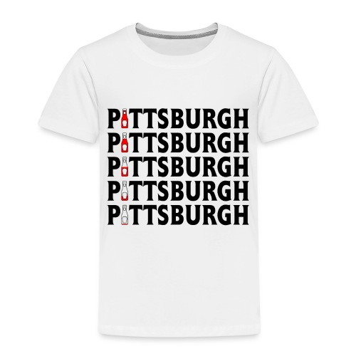 Pittsburgh (Ketchup) - Toddler Premium T-Shirt