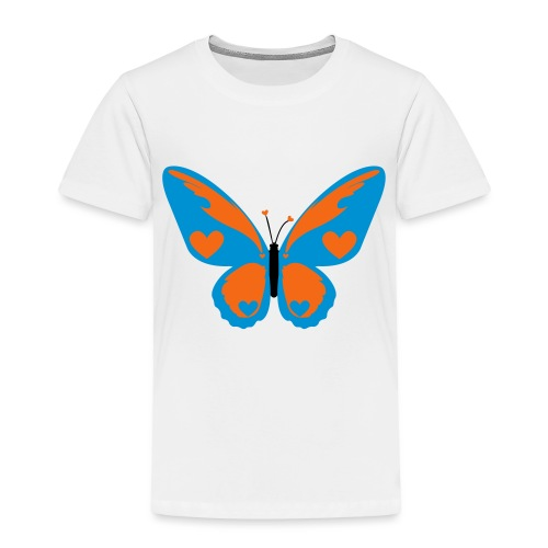 Butterfly with Love - Toddler Premium T-Shirt