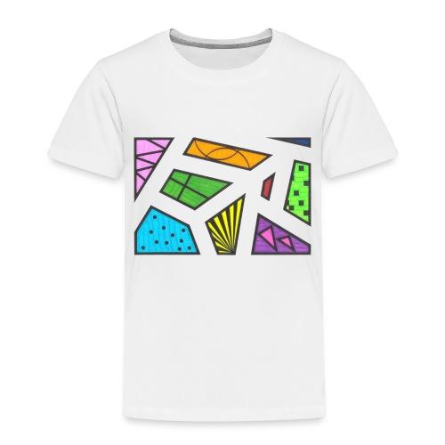 geometric artwork 1 - Toddler Premium T-Shirt
