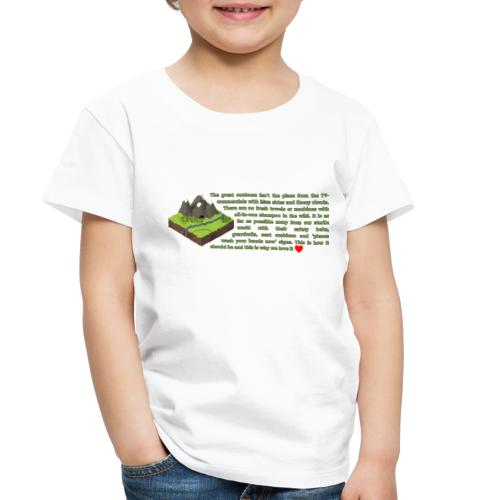 Loving Nature - Toddler Premium T-Shirt
