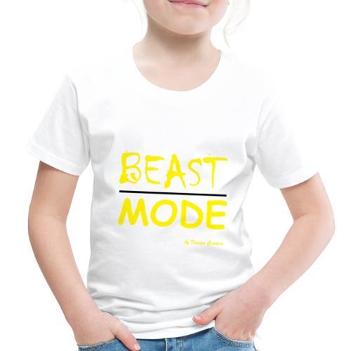 MODE, BEAST-YELLOW - Toddler Premium T-Shirt