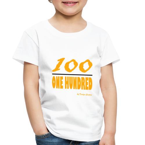 ONE HUNDRED ORANGE - Toddler Premium T-Shirt